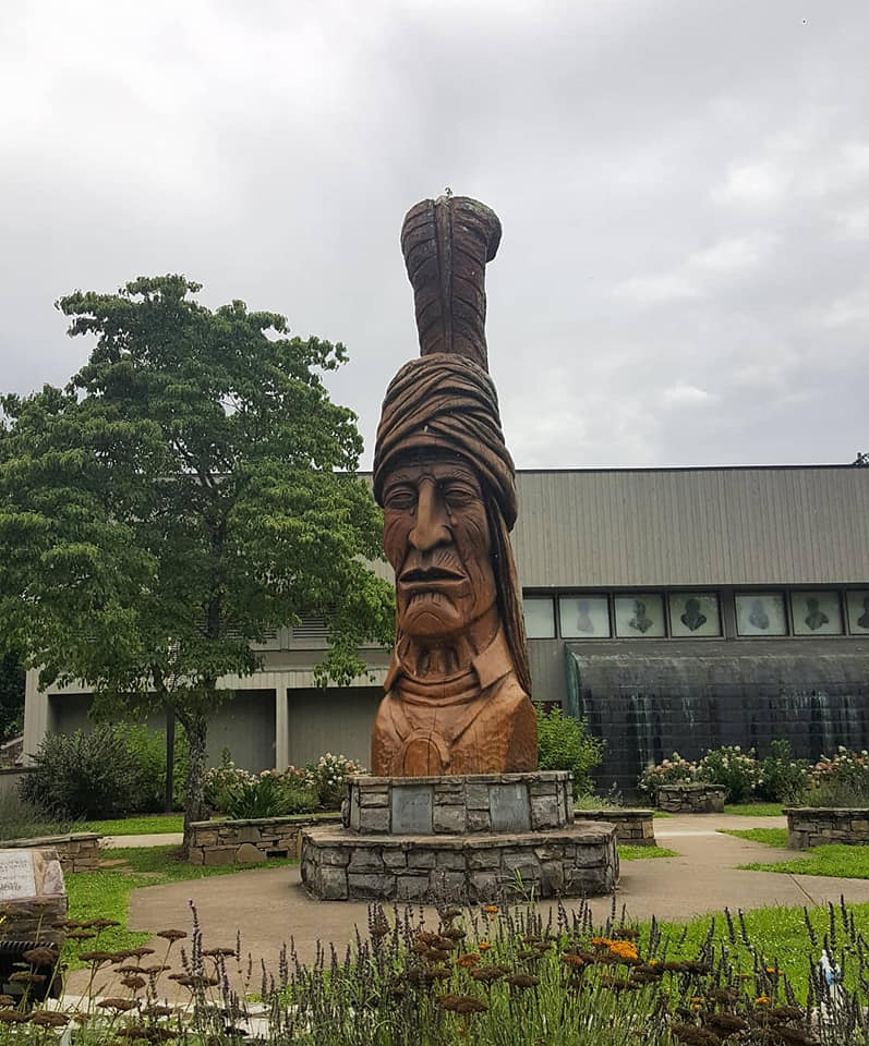 A visit to Museum of the Cherokee Indian, a part of my summer study seminar