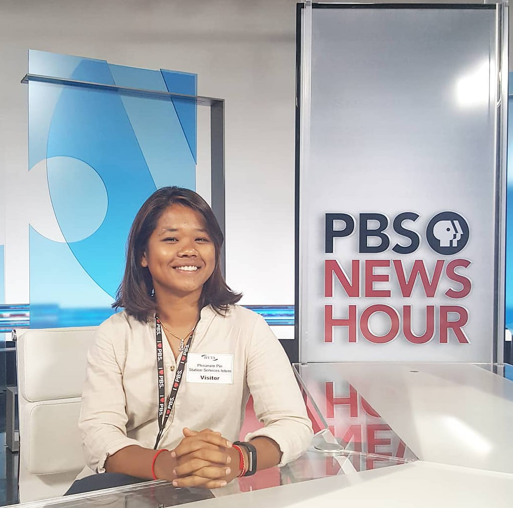 I was a summer intern with the PBS Station Services